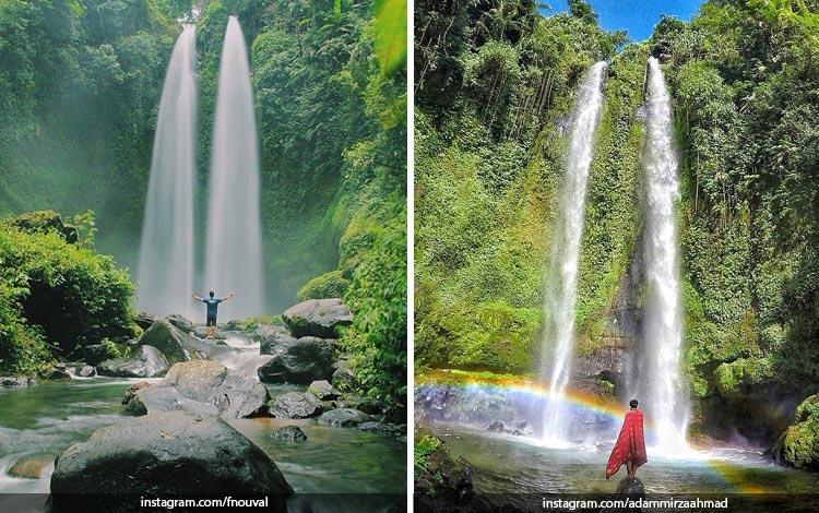 Tempat Wisata Di Lombok Terbaru dan Lagi Hits - Air Terjun Tiu Teja