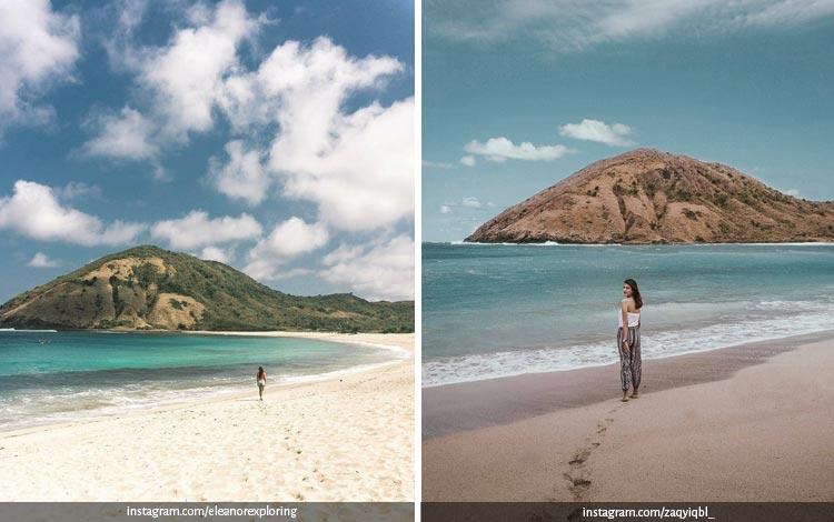 Tempat Wisata Di Lombok Terbaru dan Lagi Hits - Pantai Mawun