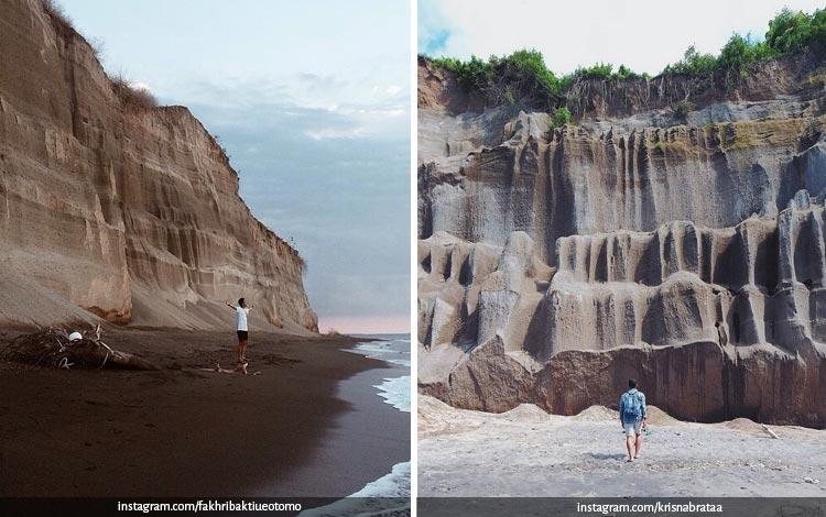 Tempat Wisata Di Lombok Terbaru dan Lagi Hits - Pantai Tebing