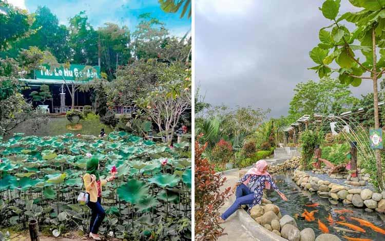 Tempat-Wisata-Di-Medan-The-Le-Hu-Garden