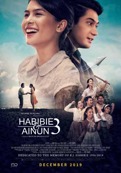 Film bioskop Desember 2019 - Habibie & Ainun 3
