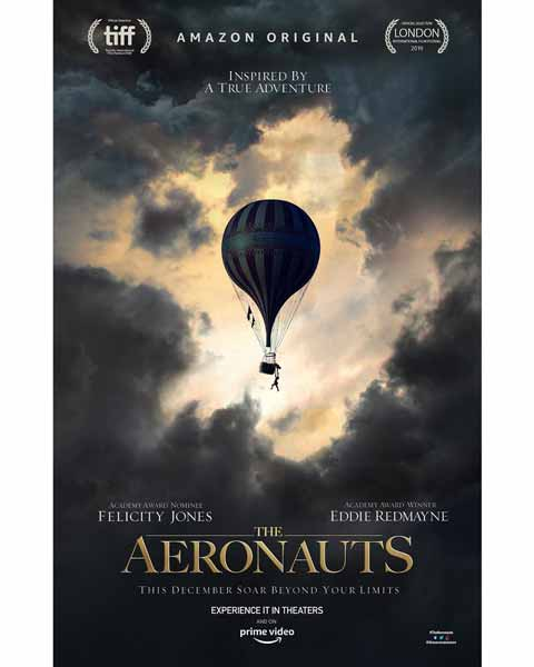 Film bioskop Desember 2019 - The Aeronauts
