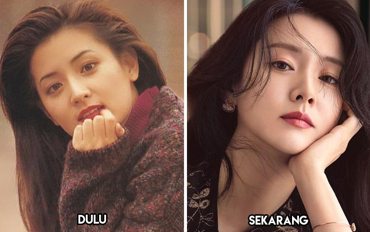 Artis Korea Yang Kecantikannya Awet Muda - Lee Young Ae