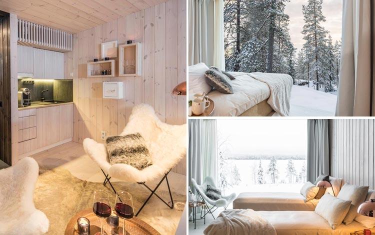 Daftar Hotel Terunik Di Dunia - Arctic TreeHouse Hotel Room