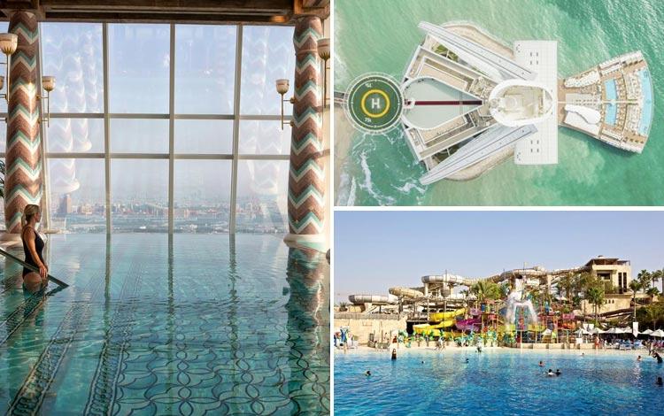 Daftar Hotel Terunik Di Dunia - Burj Al Arab Hotel Fasilitas