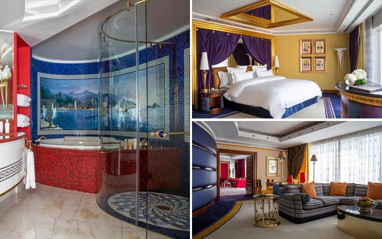Daftar Hotel Terunik Di Dunia - Burj Al Arab Hotel Room