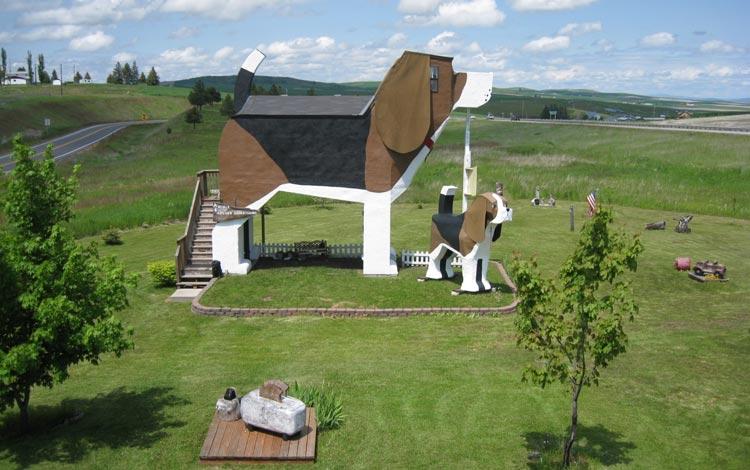 Daftar Hotel Terunik Di Dunia - Dog Bark Park Inn