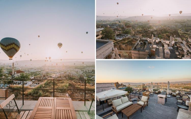 Daftar Hotel Terunik Di Dunia - Dream of Cappadocia Hotel Area