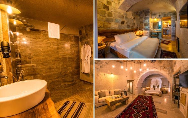 Daftar Hotel Terunik Di Dunia - Dream of Cappadocia Hotel Room