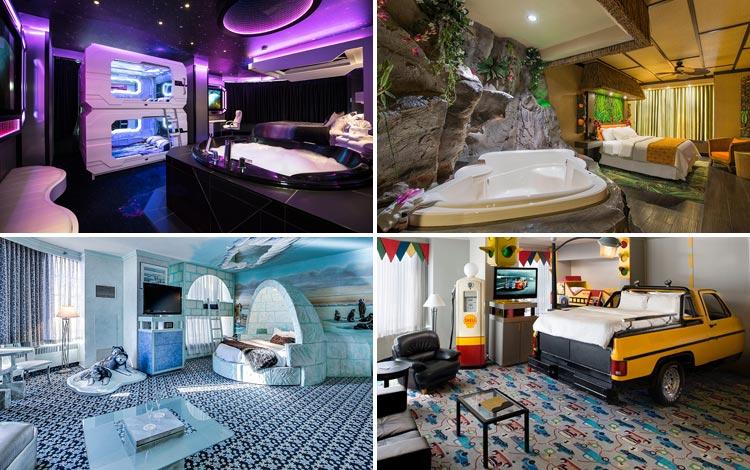 Daftar Hotel Terunik Di Dunia - Fantasyland Hotel Room