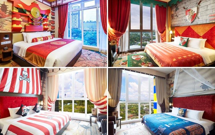 Daftar Hotel Terunik Di Dunia - Legoland Hotel Room