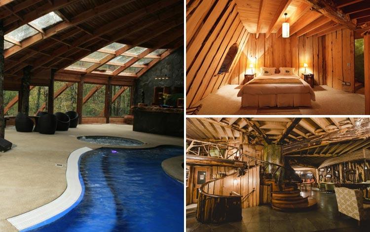 Daftar Hotel Terunik Di Dunia - Montana Magica Lodge Room