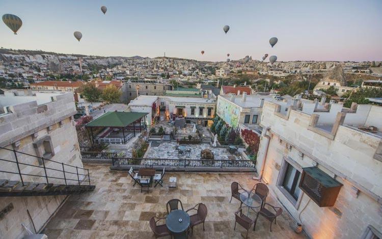 Daftar Hotel Terunik Di Dunia - Ottoman Cave Suites