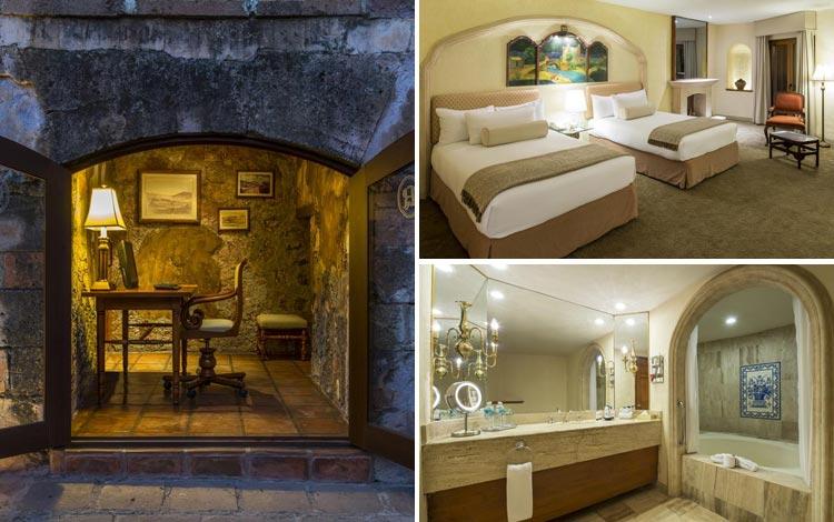 Daftar Hotel Terunik Di Dunia - Quinta Real Zacatecas Hotel Room