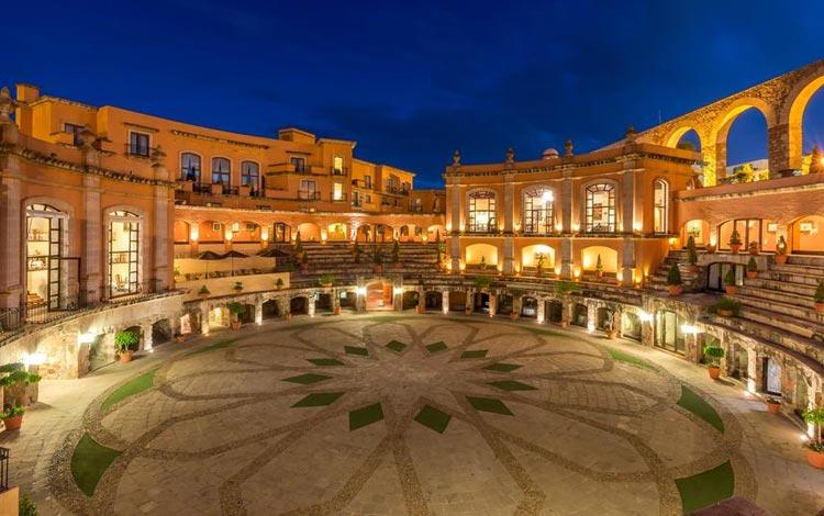 Daftar Hotel Terunik Di Dunia - Quinta Real Zacatecas Hotel