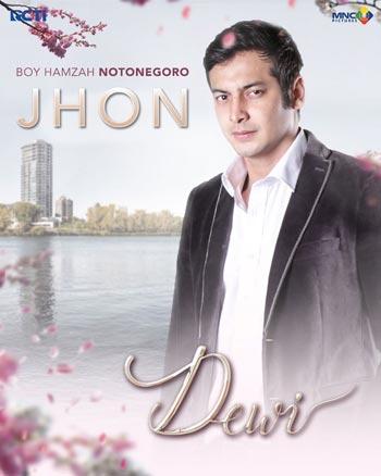 Daftar Pemain Sinetron Dewi RCTI Terlengkap - Boy Hamzah Notonegoro