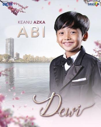Daftar Pemain Sinetron Dewi RCTI Terlengkap - Keanu Azka Briansyah