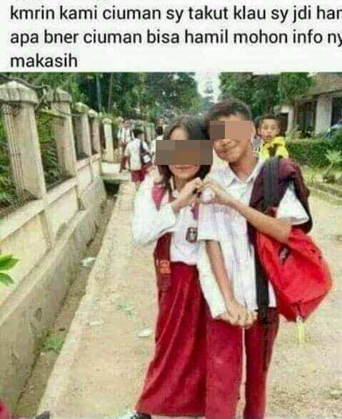 Gaya Pacaran Parah Ala Kids Jaman Now
