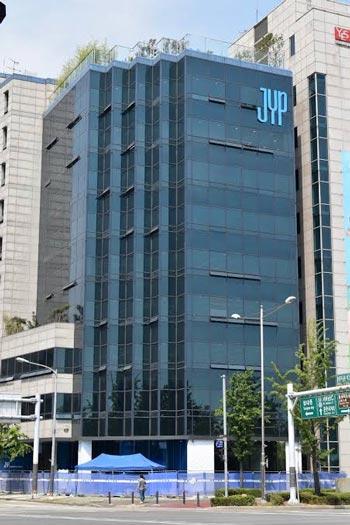 Gedung Agensi Kpop Terbesar Di Korea Selatan - JYP Entertainment