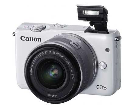Kamera Mirrorless Terbaik - Canon EOS M10