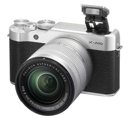Kamera Mirrorless Terbaik - Fujifilm X-A10