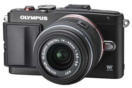 Kamera Mirrorless Terbaik - Olympus PEN Lite E-PL6 Kit