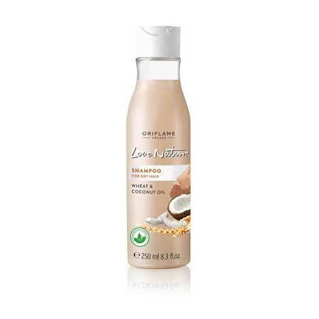 Merk Shampoo Untuk Rambut Bercabang - Oriflame Love Nature Wheat & Coconut Oil