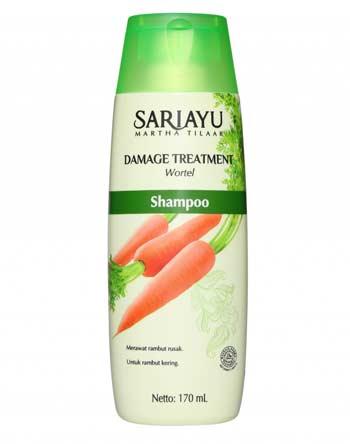 Merk Shampoo Untuk Rambut Bercabang - Sariayu Shampoo Damage Treatment Wortel