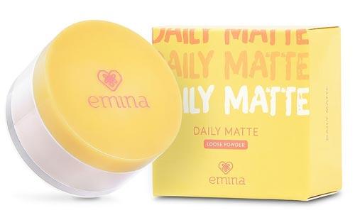 Produk Makeup Emina - Daily Matte Loose Powder
