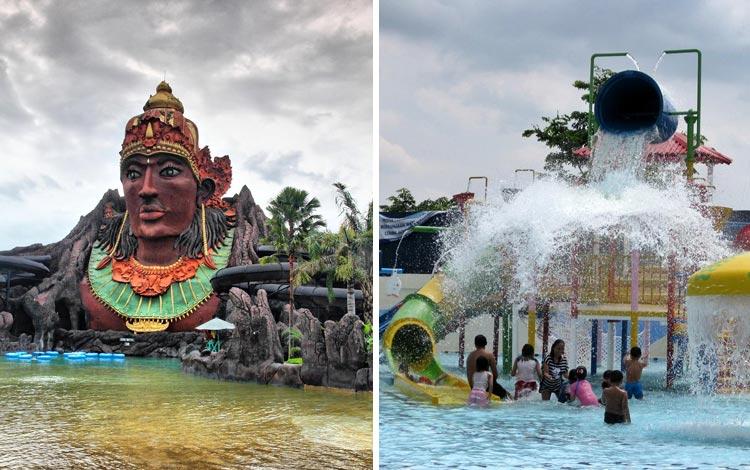 Tempat Wisata Terpopuler Di Solo - Pandawa Water World