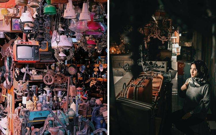 Tempat Wisata Terpopuler Di Solo - Pasar Triwindu Ngarsopuro