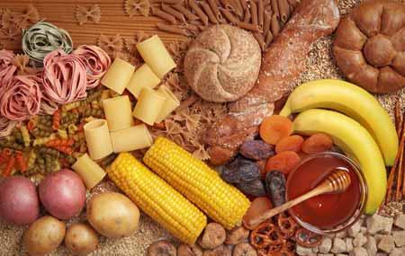Cara menaikan berat badan secara alami dan aman dengan manambah jumlah porsi karbohidrat