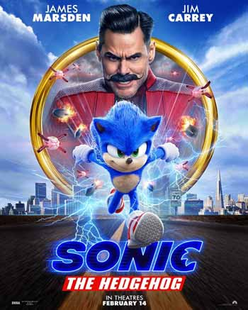 Film bioskop Februari 2020 - Sonic the Hedgehog