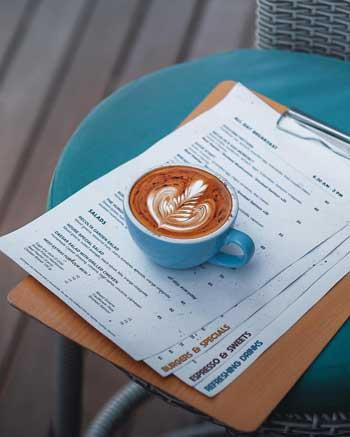 Kedai Kopi Terbaik Di Bali - Recolta Cafe Menu