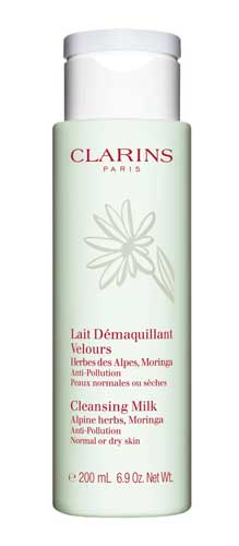 Merk Milk Cleanser Terbaik - Clarins Cleansing Milk with Alpine Herbs