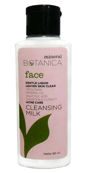 Merk Milk Cleanser Terbaik - Mineral Botanica Acne Care Cleansing Milk