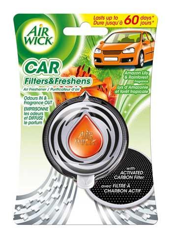 Merk Parfum Mobil Terbaik - Air Wick Car Filter & Fresh