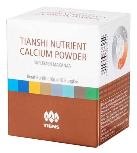 Merk Susu Peninggi Badan Terbaik - Tiens Nutrient Calcium Powder