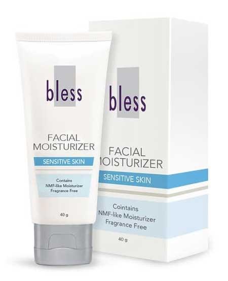 Pelembab Wajah Yang Bagus Untuk Kulit Sensitif Dan Berjerawat - Bless Facial Moisturizer