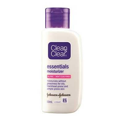 Pelembab Wajah Yang Bagus Untuk Kulit Sensitif Dan Berjerawat - Clean & Clear Essential Moisturizer