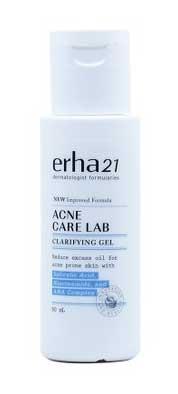 Pelembab Wajah Yang Bagus Untuk Kulit Sensitif Dan Berjerawat - Erha 21 Acne Care Lab Acne Clarifying Gel
