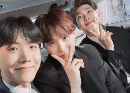 Rap Line BTS - RM, J-Hope dan Suga