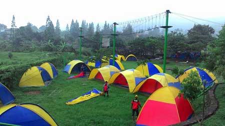 Tempat Camping Terbaik Di Bogor - Citra Alam Riverside