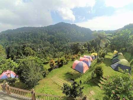 Tempat Camping Terbaik Di Bogor - Eagle Hill