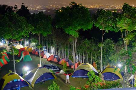 Tempat Camping Terbaik Di Bogor - Kampoeng Awan