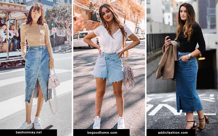 Trend-Fashion-2020-Denim-skirt