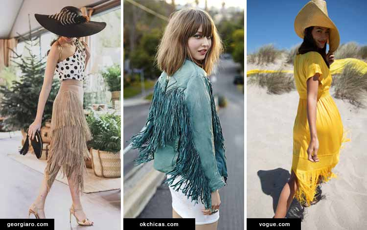 Trend fashion 2020 - Fringed