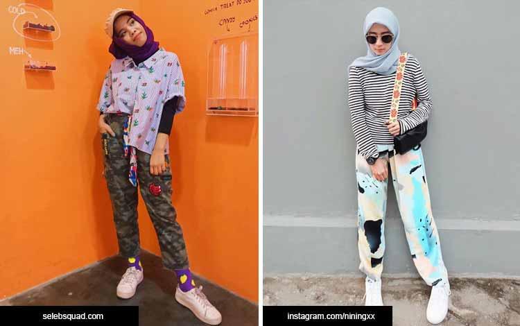 Trend hijab 2020 - motif nabrak