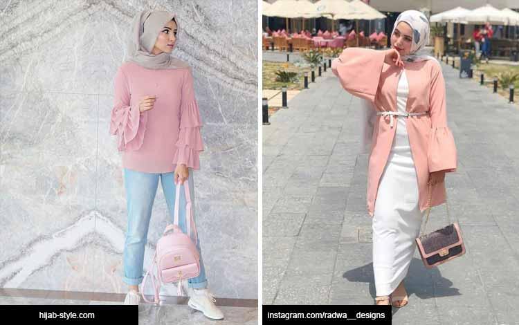 Trend hijab 2020 - warna pastel