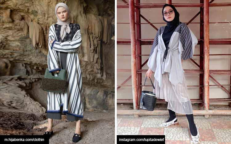 Trend hijab 2020 - wrap outerwear